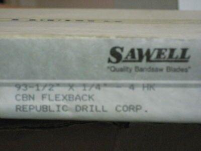 Sawell 93-12 X 14 4hook Bandsaw Blade Aa6596-1