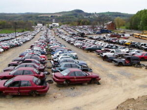 MILLIONS  OF  USED AUTO TRUCK  PARTS AUTOKAPUT SALVAGE