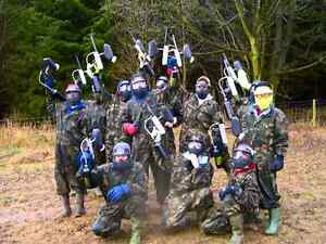 10 Paintballing Tickets for the price of 4.