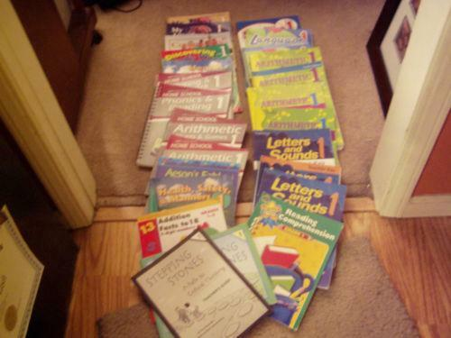 Lot of 16 Abeka 1st Grade Readers Including Science History and Health Homeschool