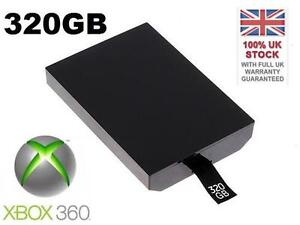 XBOX 360 SLIM INTERNAL HARD DRIVE - 320GB - 1 YEAR WARRANTY - BRAND NEW - UK