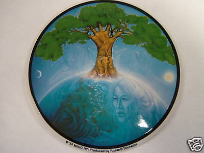 """Decal """"SAVE THE EARTH - LIVING PLANET""""  decal,  # CD150"""