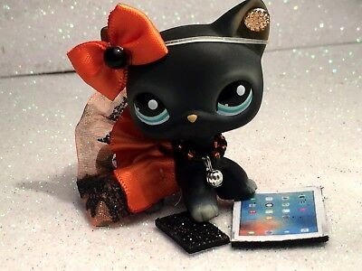Littlest Pet Shop Clothes LPS Accessories Custom Outfit Halloween Bat NO CAT/DOG](Cat Accessories Halloween)