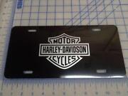 Harley Davidson Car Tag