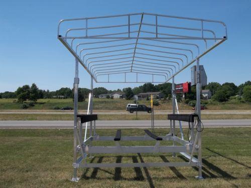 Boat lift canopy ebay for Boat lift motor covers