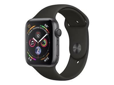 Apple Watch Series 4 GPS 44 mm, alluminio, grigio siderale, cinturino Sport nero