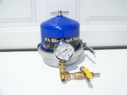 150 GPH CENTRIFUGE w/BRASS and GAUGE  for Black Diesel