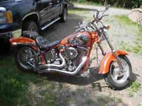 Harley Davidson softail faite une offre