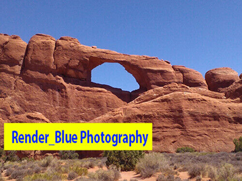 ❤️ DIGITAL PICTURE WALLPAPER FREE SHIPPING ARCHES ROCKS IN UTAH LANDSCAPE ❤️