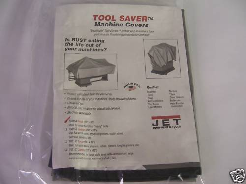 JET Small Machine Cover for Shop Hobby Tools - NEW