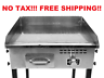 Commercial Restaurant Gas Gril Countertop Flat Top Heavy Duty Grill Food Griddle