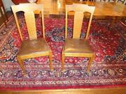 Oak Chairs