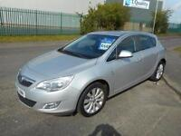 VAUXHALL ASTRA 1.4 TURBO SE 5 DOOR MANUAL PETROL 10 PLATE MILES £34 PER WEEK