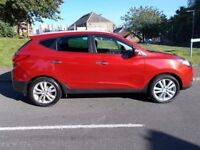 HYUNDAI IX35 PREMIUM CRDI 4WD 2010 Diesel Manual in Red (red) 2010
