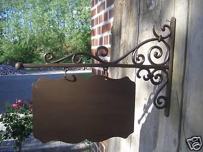 Schild mit Wandhalter,Wegweiser, Geschäft,Cafe,Haus,Hof, Schild Nr.1