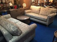 John lewis Eleanor 3 seater sofa in duck blue floral print rrp £899