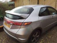 Honda Civic MK8 (FN2) Rear Spoiler (Unpainted)