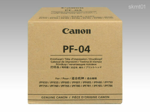 New Canon Print Head PF-04 3630B001 Genuine official product from Japan
