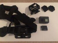 GoPro HERO5 Action Camera (Black) + Harness