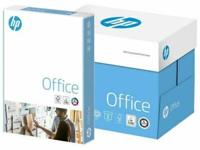 Hp Office A4 White Paper 80gsm Printer Copier 1 2 3 4 5 Reams Of 500 Sheets
