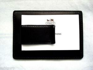 designer money clip wallet 7ueq  Coach Mens Money Clip Wallets
