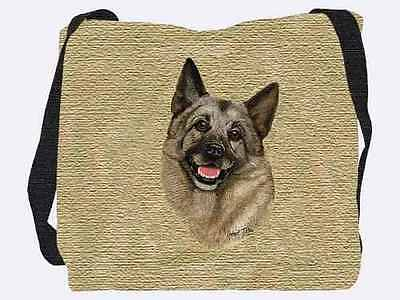 Woven Tote Bag - Norwegian Elkhound 1944