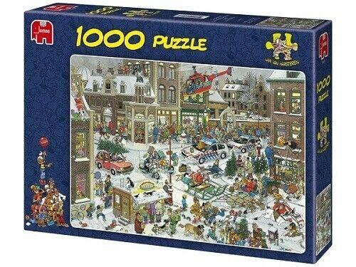 Jumbo Jan Van Haasteren 1000 Piece Jigsaw Puzzle - Christmas