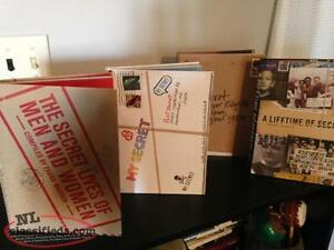 Collection of 4 Hard Cover POSTSECRET Books. Perfect Condition!