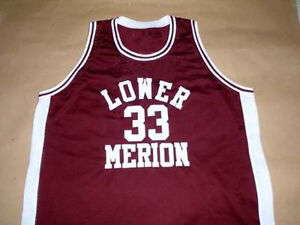 KOBE-BRYANT-LOWER-MERION-HIGH-SCHOOL-JERSEY-MAROON-NEW-ANY-SIZE-XS-5XL