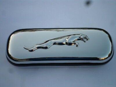 Leaping Jaguar XJS X Type E type car brand new chrome glasses case great gift!!!