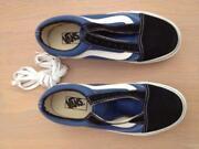 Black Vans School Shoes