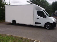 Huge Van! Removals Delivery and Collection Courier Service Man with a Van