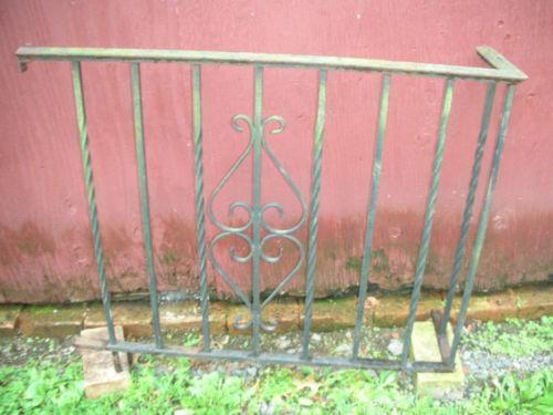 Wrought Iron Porch Ebay