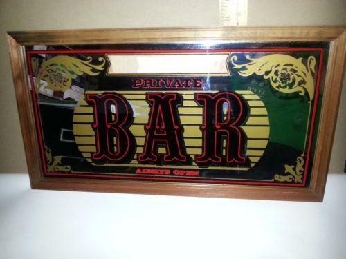 Bar Mirror Ebay