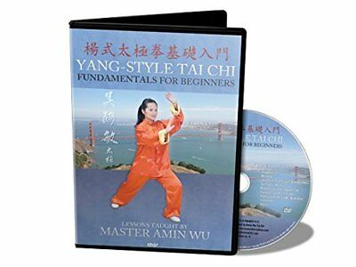 Yang-Style Tai Chi Fundamentals for Beginners by Amin Wu (2013, HD DVD, New Edit
