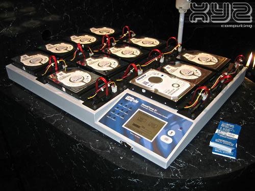 LOGICUBE OMNICLONE 10Xi  IDE & SATA Hard Drive Duplicator w/ Software Options