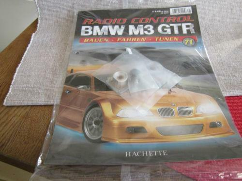 bmw m3 gtr hachette ebay. Black Bedroom Furniture Sets. Home Design Ideas