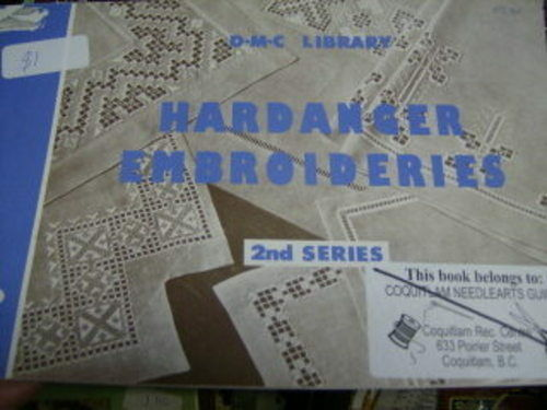 DMC Library Hardanger Embroideries Book 2nd Series 1962