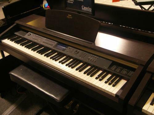 Yamaha clavinova digital piano syntheiser electric music for Yamaha clavinova clp 110