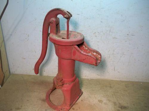 Antique Water Pump Ebay