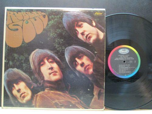 Rubber Soul Vinyl Records Ebay