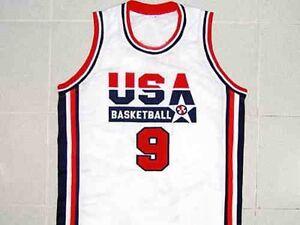 MICHAEL-JORDAN-TEAM-USA-JERSEY-WHITE-NEW-SEWN-ANY-SIZE-XS-5XL