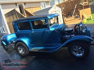 1930 Ford Model A and Trailer $31,900.00 obo