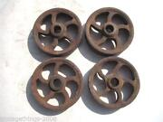Antique Cast Iron Wheels
