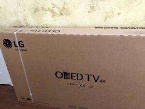 LG Electronics OLED55B7A 55-Inch 4K Ultra HD Smart OLED TV  -HDMI BUNDLE