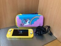 Nintendo Switch Lite Console 32gb With Case Pristine A+