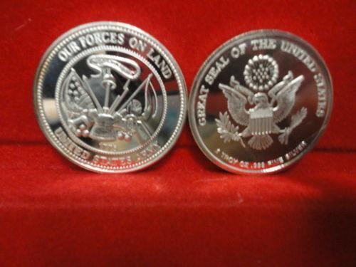 Army Silver Coin Ebay