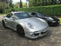 2008 08-REG PORSCHE 911 997 3.6 TURBO GEN 1. MANUAL. SPORTS CHRONO PACK. 19''