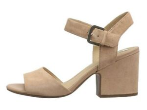 Brand New  GEOX Women's Marilyse  Dress Sandals Nude Skin Size 7