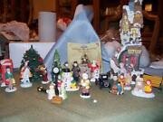 Large Christmas Ornaments Lot